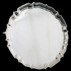 Large Silver Salver, Sheffield 1930, Fenton Brothers Ltd