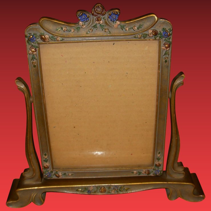 Vintage 1940\'s Photo Frame on Stand : Amie\'s Antiques | Ruby Lane