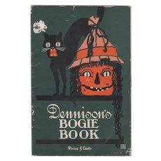 1919 Dennison Halloween Bogie Book