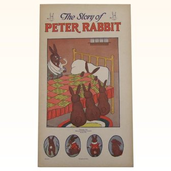 1922 The Story of Peter Rabbit Children's Book