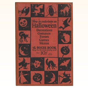 1926 Halloween Bogie Book Hard Cover