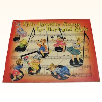 1935 Fifty Favorite Songs for Boys and Girls