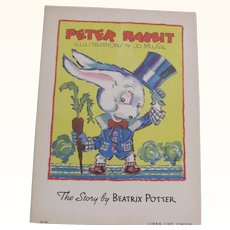 1936 Peter Rabbit by Beatrix Potter