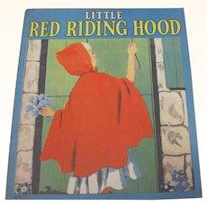 1939 Little Red Riding Hood Children's Book
