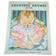 1938 Counting Rhymes Children's Book by Whitman Publishing