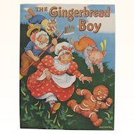1938 The Gingerbread Boy Children's Book