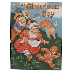 1938 The Gingerbread Boy Children's Book Merrill Publishing