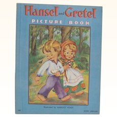 1938 Hansel and Gretel Picture Book