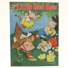1938 Little Red Hen Children's Book