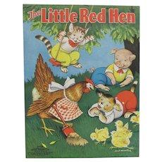1938 Little Red Hen Children's Book