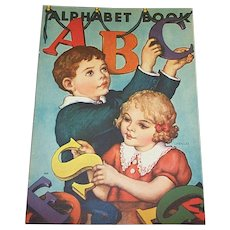 1939 ABC Alphabet Children's Book