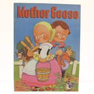 1939 Mother Goose Children's Book Beatrice Mallet