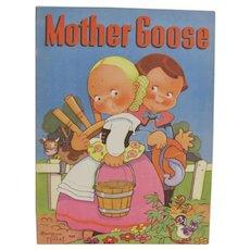 1939 Mother Goose Children's Book Beatrice Mallet