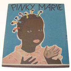 1939 Pinky Marie Adventure with 7 Bluebirds Children'sBook