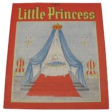 1939 The Little Princess Children's Book