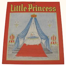 1939 The Little Princess Children's Book