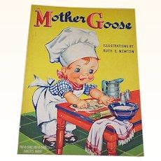 1940 Mother Goose Children's Book Ruth Newton