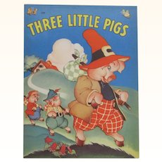 1941 Three Little Pigs Children's Book