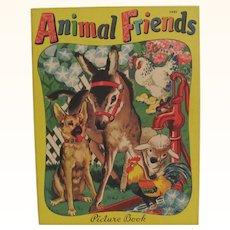 1942 Animal Friends Children's Book