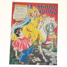 1944 Mother Goose Children's Book