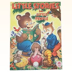 1946 Little Stories For Little People Book