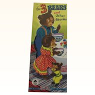 1948 The Three Bears and Other Stories Children's Book