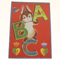1949 ABC Children's Book