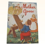 1949 Mother Goose Children's Book