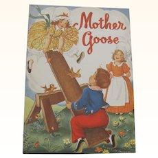 1949 Mother Goose Children's Book