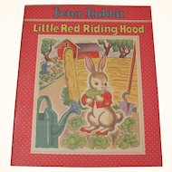 Two in one Peter Rabbit & Little Red Riding Hood Book