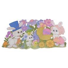 Three Hallmark Easter Cutout Decorations #2