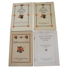 Halloween Four Tip Top Hallowe'en Books