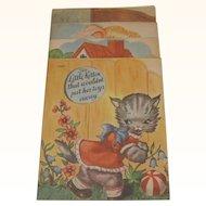1941 Set 4 Graduated Children's Books