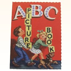 1948 ABC Picture Children's Book