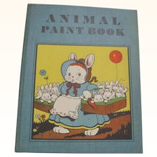 Animal Paint Book Cover by Harrison Cady