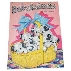 1945 Baby Animals Children's Book