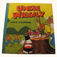 1940 Uncle Wiggily Goes Camping Book