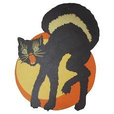 Halloween Arched Black Cat Decoration