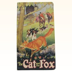 1939 The Cat And The Fox Children's Book