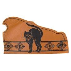Halloween Tissue Paper Hat Black Cat