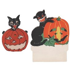 Pair Halloween Cats with JOL's