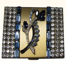 Rhinestone Compact Trickettes by Wiesner