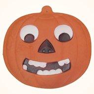 Halloween Embossed Die Cut JOL w Teeth