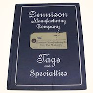 1914 Dennison Manufacturing Co Tags & Specialties Catalog