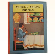 Mother Goose Rhymes Board Cover Book