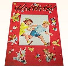 1949 Here We Go Children's Book