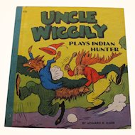 1940 Uncle Wiggily Plays Indian Hunter Book