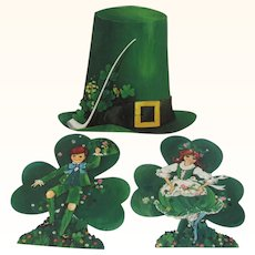 St Patricks Day Hallmark & Dennison Decorations