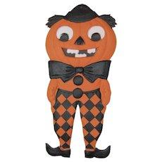 Halloween Embossed JOL Man Die Cut Germany