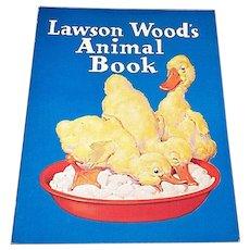 1936 Lawson Wood Animal Book